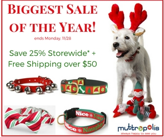 Muttropolis Biggest Sale of the Year! Save 25% Sitewide + Ship Free Over $50 with coupon code