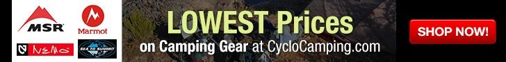 bike camping gear