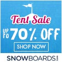 Snowboards.com Lucky Size Sale 125x125