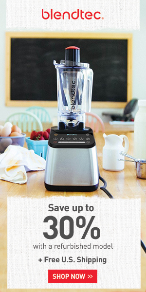 Refurbished Blendtec 30 percent off