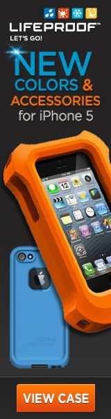 LifeProof iPhone 5 Colors/Accessories