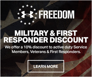 Under Armour:  Block - 15% Off for Military, Veterans, and EMT-Certified First Responders