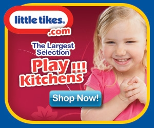 Little Tikes Play Kitchens for children!