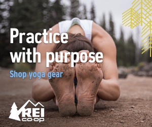 yoga gear at REI