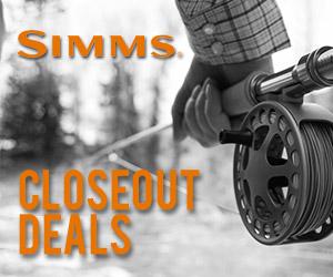 Simms Closeout Deals