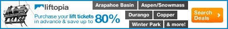 Discount lift tickets for Arapahoe Basin and other Colorado Ski Resorts!