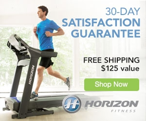 Horizon treadmills on sale