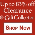 Up to 83% Off at GiftCollector