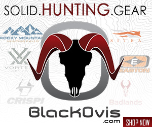 Black Ovis Hunting Gear