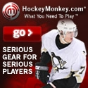 Hockey equipment from Hockey Monkey