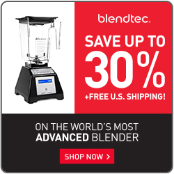 Save $100 Off Blendtec Factory Recertified Blenders