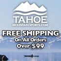 Find top brands in the Outdoor Industry at Tahoe Mountain Sports