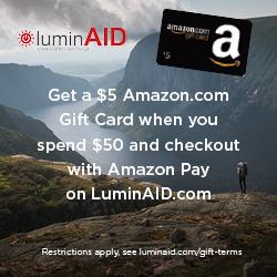 LuminAID - Block Ad 250x250