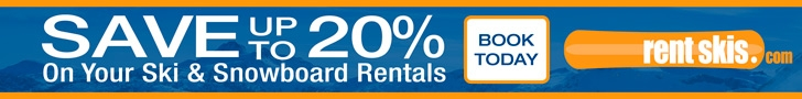Save up to 20% on ski gear rentals