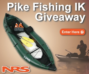 WIN AN INFLATABLE FISHING KAYAK PACKAGE!