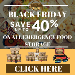 Valley Food Storage - Black Friday Sales