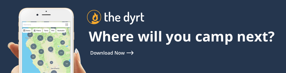 The Dyrt app - Where will you camp next?